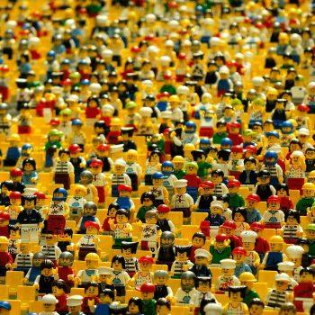 millions of lego men
